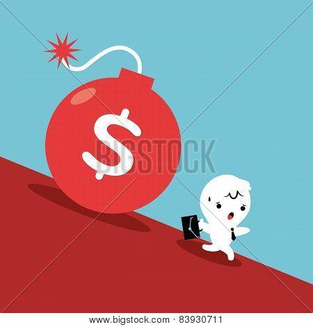 Running From Debt