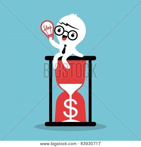 Business Idea Hour Glass