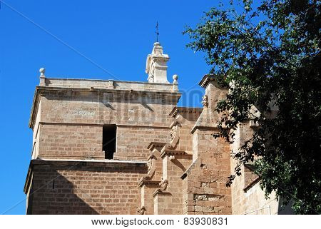 Part of Almeria Cathedral.
