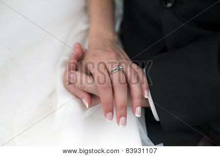 Wedding Ring On Hand