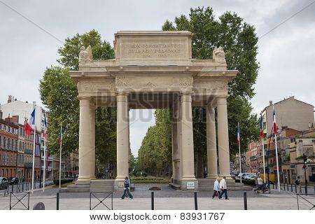 Monument Aux Combattants De La Haute Garonne
