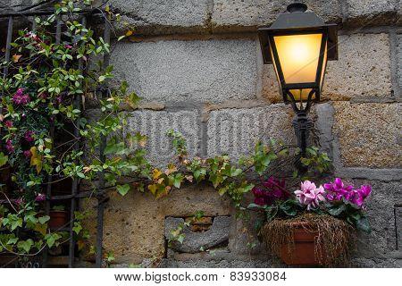Light On The Wall