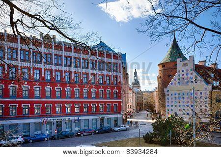 Historical Buildings Of Riga