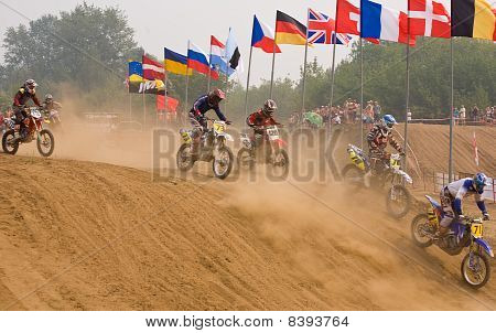 Team Imba Cup Of Nations (motocross) In Vladimir