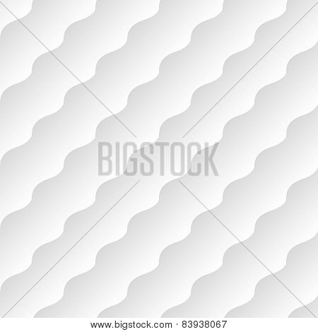 White neutral seamless background. Vector illustration