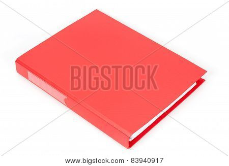 Red document case