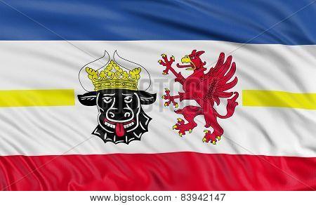 3D Mecklenburg-Vorpommern Flag