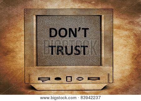 Don't Trust Tv
