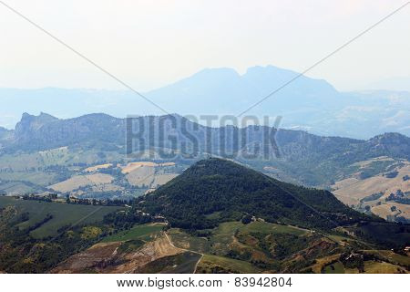 Italian Romagna Landscape