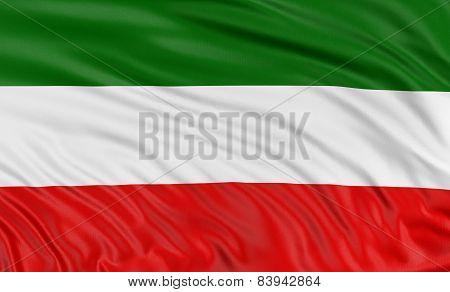 3D North Rhine-Westphalia Flag