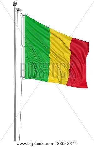 3D Mali flag