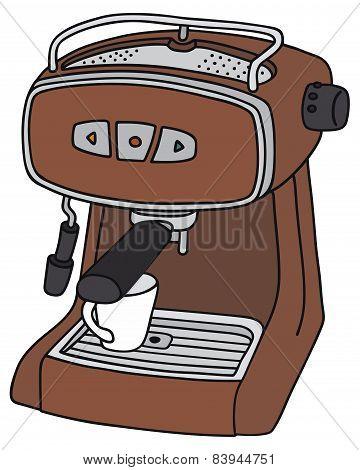 Electric espresso maker