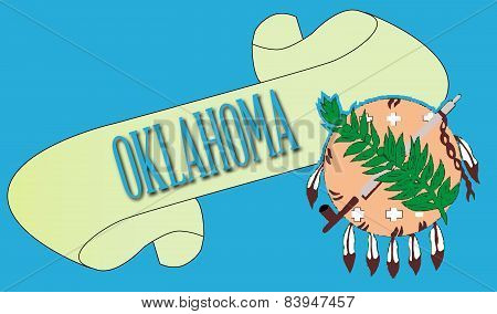 Oklahoma Scroll