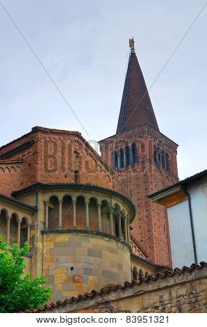 Cathedral Church of Piacenza. Emilia-Romagna. Italy.