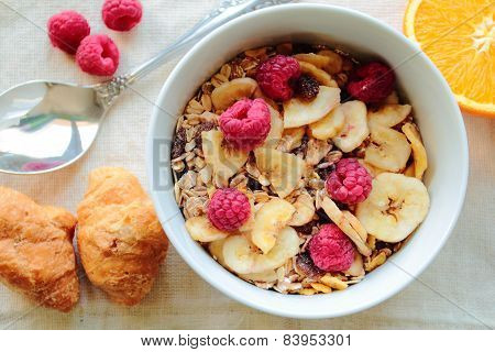 Bowl with cereals