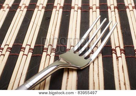 Closeup Fork