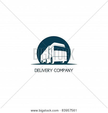 Delivery Company Logo Template