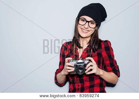 Stylish Photographer.