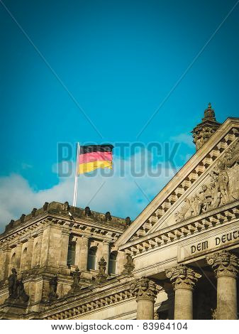Reichstag Building. Berlin.