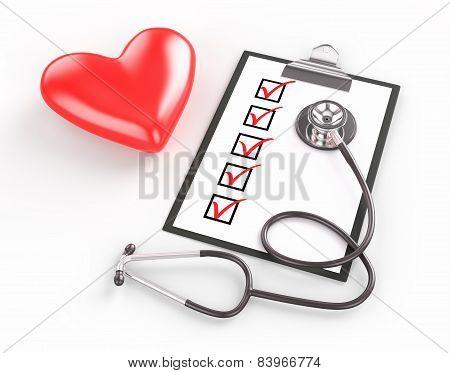 Medical Test Concept