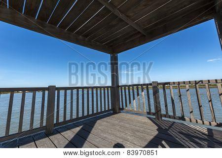Wooden Bridge Pier