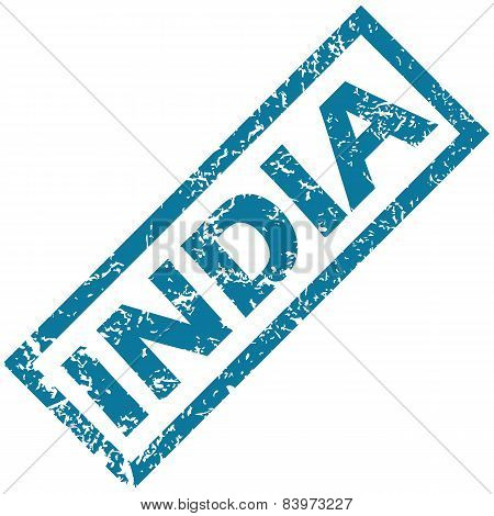 India rubber stamp