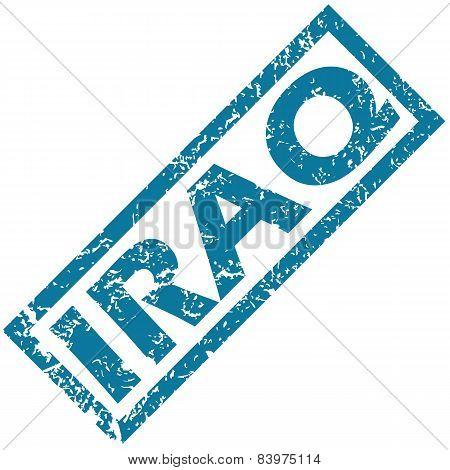 Iraq rubber stamp