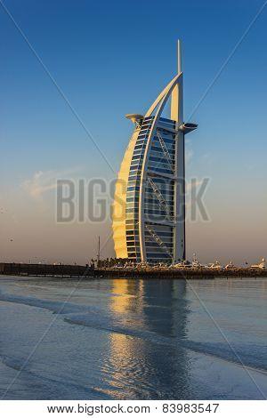 Burj Al Arab Hotel On Nov 15, 2012 In Dubai
