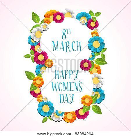 Happy Women Day Illustration