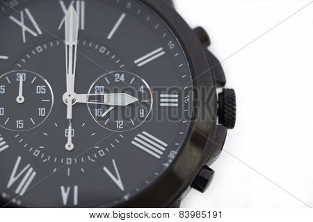Black Watch Isolated On White