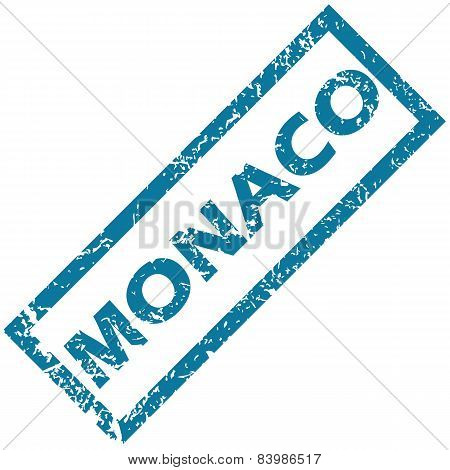 Monaco rubber stamp