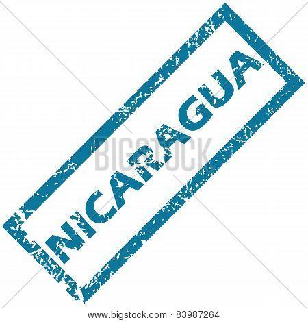 Nicaragua rubber stamp
