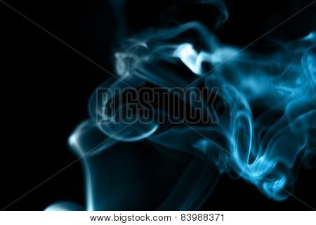 smoke from the incense