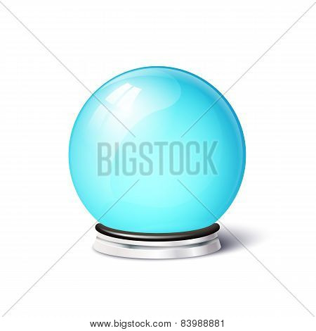 Isolated vector magic spiritual ball