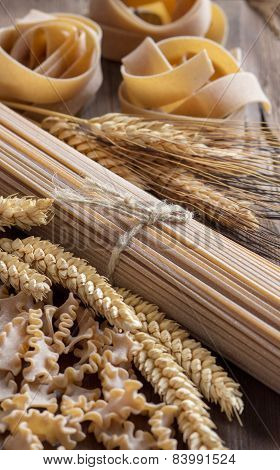 Whole Wheat Italian Pasta With Spikes