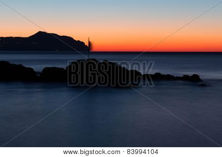 sea and sunrise