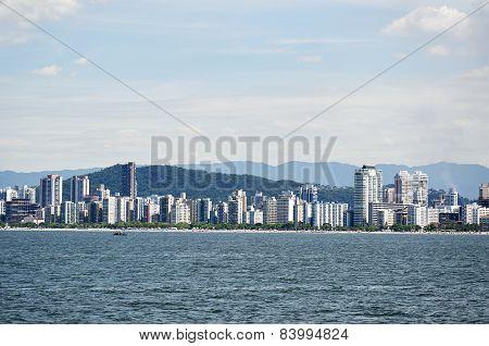City Of Santos In Sao Paulo