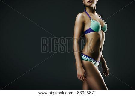Girl In Swimwear