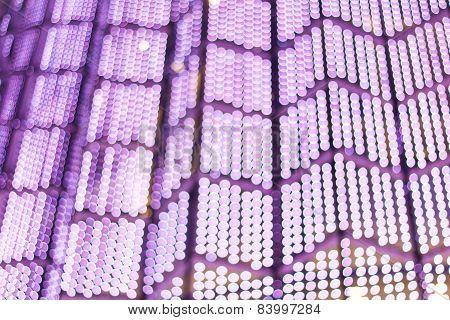 Blur Lights Bokeh Background