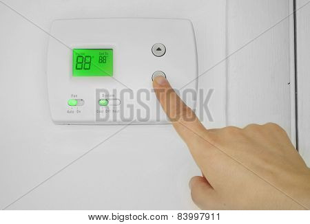 Ac Thermostat Adjust