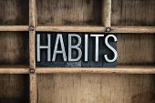 pic of  habits  - The word  - JPG