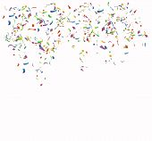 pic of school carnival  - Colored paper on  the white background - JPG