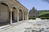 picture of carthusian  - Cartuja monastery courtyard Jerez de la Frontera C - JPG