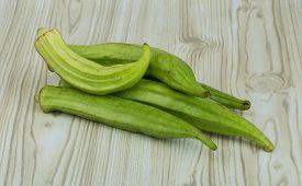 stock photo of okras  - Asian vegetable  - JPG