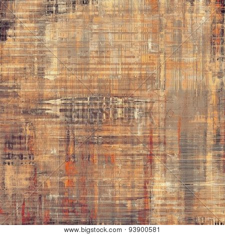 Old Texture or Background. With different color patterns: yellow (beige); brown; gray; red (orange)