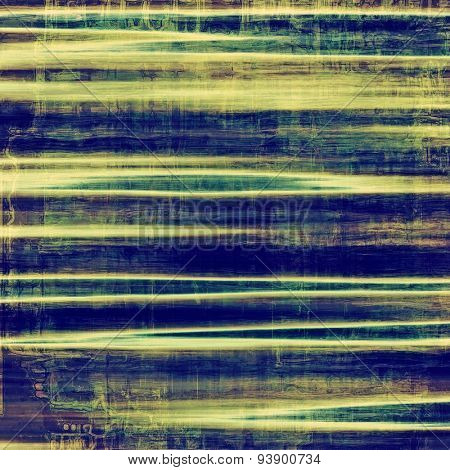 Old retro vintage texture. With different color patterns: yellow (beige); green; blue; purple (violet)