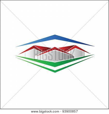 Abstract House symbol