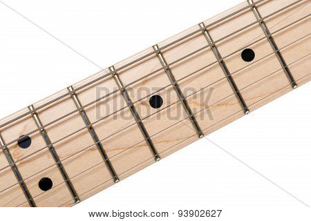 Empty Wooden Maple Fingerboard