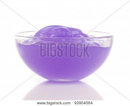 Purple Cosmetic Cream