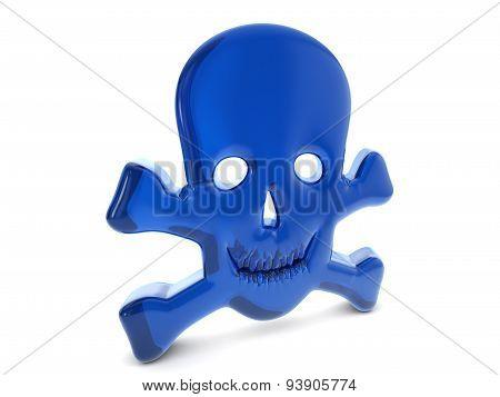 Balloon Skull Symbol